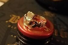 *NEW*  14k GOLD CLADDAGH RING - Ladies Beautiful