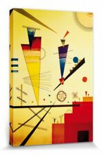 Wassily Kandinsky - Cheerful Structure Poster Canvas Print (47x32in) #81701