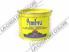 AMBROSOLI - AMBRA SOLIDA - 500 g - COLORE: BIANCO - CERA PER PAVIMENTI E MOBILI