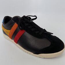Gola Bullet Trident Black Casual Trainers Women Shoes Size 6 EU 37 AL6587