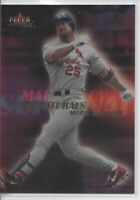 2000 FLEER MYSTIQUE MARK McGWIRE SUPERNATURALS