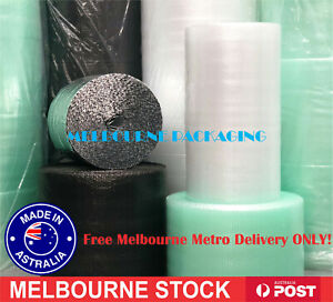 Bubble Cushioning Wrap Bubble 50m / 100m Roll Width: 300 375 500 750mm Clear Eco
