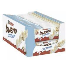KINDER BUENO COCONUT 2 BAR 39g x 30 Packets (Full Box)  £21.75