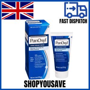 PanOxyl Creamy Acne Wash, Daily Control, 4% Benzoyl Peroxide 6 oz FREE SHIPPING✅
