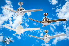 Ceiling Fan 132cm with Remote Control Lighting Wind-Maschine Lamp Light