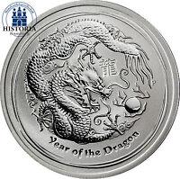 Australien 1/2 Dollar Silber 2012 Lunar II Serie: Silbermünze Jahr des Drachen