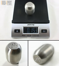 M12 X 1.25 STAINLESS STEEL 5 SPEED HEAVY WEIGHTED(15.4 OZ) SHIFT KNOB FOR SCION