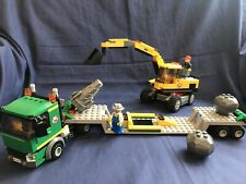 Lego City Construction mine Set: 4203 - Excavator Transporter town Truck Lorry