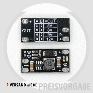 Mini Step Up Spannungswandler DC-DC 5V 8V 9V 12V Power Boost Converter Arduino