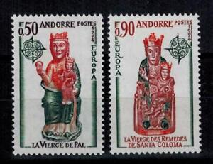 "(b3)  timbres d'Andorre Français n° 237/238 neufs** année 1974 ""europa"""