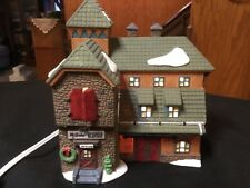 """Dept 56 New England Series """"Mc Grebe Cutters & Sleighs"""" House #5640-5 Vintage"""