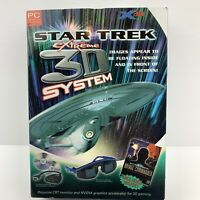 STAR TREK BRIDGE COMMANDER (2002) + Extreme 3D System - sealed in box