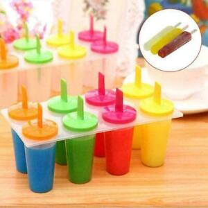 8 Cell Silicone Ice Cream Mold Juice Popsicle Maker K1D2 Ice 2020 Lolly S2