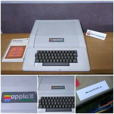 TRES RARE COLLECTION ORDINATEUR APPLE II EUROPLUS  (2+) + MANUEL DOS