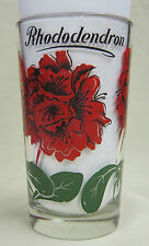 Rhododendron Peanut Butter Glass Glasses Drinking Kitchen Mauzy 28-3