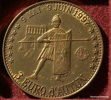 AUTUN TRAITE DE ROME LIONS   3 EURO DES VILLES 1997 FDC 1082A3