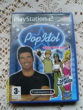 Playstation 2 Pop Idol Official Video Game