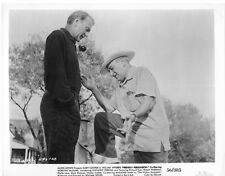 FRIENDLY PERSUASION photo GARY COOPER/WILLIAM WYLER original on the set still