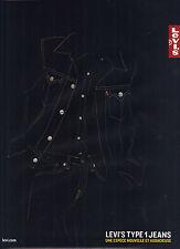PUBLICITE   2003   LEVI'S    JEANS TYPE & VESTE
