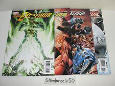 New Excalibur 4 Comic Lot Marvel 2006 10 15 19 21 Captain Britain Juggernaut HTF