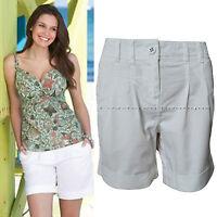 New Pepperberry Bravissimo size 8 White Summer Shorts Back Pockets