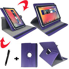 10 zoll Tablet Tasche - Asus Transformer Pad TF700 Hülle Etui - 360° Lila 10
