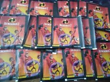 Brazil version 2018 Panini Disney Pixar Incredibles 2 - x50 Sticker Pack