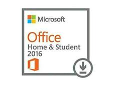 Microsoft Office Home & Student 2016 1 PC 32/64 BIT   Retail Nuovo ORIGINALE ESD