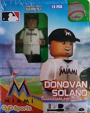 Donovan Solano OYO Miami Marlins MLB Mini Figure NEW G4