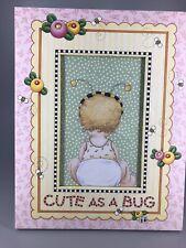 Mary Engelbreit Framed Picture-Cute As A Bug 13F