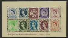 GB MNH 2003 MS2267 50TH ANV OF WILDING DEFINITIVES MINISHEET