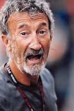 Eddie Jordan SIGNED 12x8 Portrait , Channel 4 TV GP Presenter / Ex F1 Team Owner