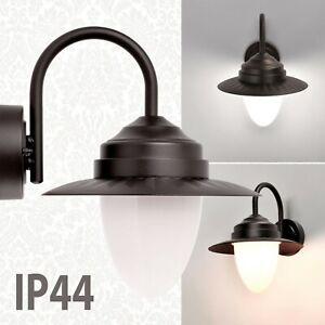 Retro Außenleuchte Außenlampe Wandlampe Wandleuchte Aluminium LED  E27 Garten
