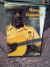 Mance Lipscomb: In Concert DVD NEW