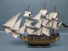 Segelschiff Segelboot HMS Victory  Holz Modell Schiffsmodell 55 cm