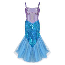 Girls Kids Fairy Halloween Princess Costume Outfits Party Fancy Dress Up Clothes