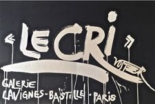 (FLUXUS) WOLF VOSTELL - LE CRI - Portfolio de 10 lithographies couleurs signées