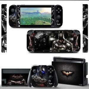 Ci-Yu-Online [NS] Batman VINYL SKIN Screen Protector for Nintendo Switch Joy-Con