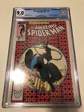 Amazing Spider-Man 300 CGC 9.0   Marvel 1988   Venom 1st Full Appearance! Eddie