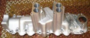 Tattersfield Flathead Ford V8 Intake Manifold Hot Rod Dual Carb Stromberg