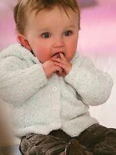 Cavo per Ragazzi Felpa Con Cappuccio 3 mesi - 7 anni Knitting Pattern