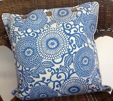 Cushion Covers Anthea Blue White Decorator Scatter Throw Cover Chair Sofa Daybed