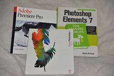 Photo Shop Elements 7 / Adobe Premiere Pro /  Adobe Photoshop CS ( lot 3 )