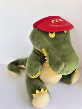 Plush Creations Inc.1988 smiling green dragon red Princess Cruises baseball cap