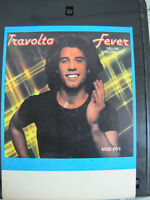 John Travolta Fever 8 Track Tape Deluxe 1977 Midsong Let Her In Midnight Lady