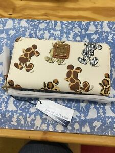 Disney Dooney & Bourke Mickey Mouse Animal Print Wallet. NEW NWT