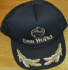 Sea World Vintage 80s Snapback hat (Mesh sides & Back) BRAND NEW Amusement Park
