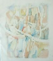 Christian Roos Wilhelmshaven Aquarell unsigniert O-1297
