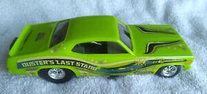 "Monogram ""Dusters Last Stand"" Funny Car Drag Racing Model Kit Assembled"