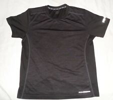 And1 Men's Short Sleeve Black Active Wear Basketball Sports Shirt Size M